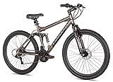 Best Dual Suspension Mountain Bikes - Takara Jiro Dual-Suspension Disc Brake Mountain Bike, 27.5-Inch Review