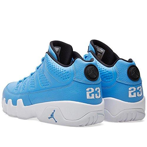 """Nike Air Jordan 9 (ix) Låg """"pantone"""" Mens Universitet Blå / Vit-svart-universitetet Blå 832.822-401 (2016)"""