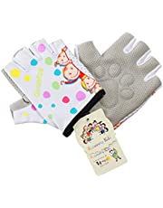 Roaming Kids Gloves for Age2-10, Great for Outdoor Sports, Cycling, Riding, Motocycling,Running, Climbing, Scooter, Monkey bar etc.