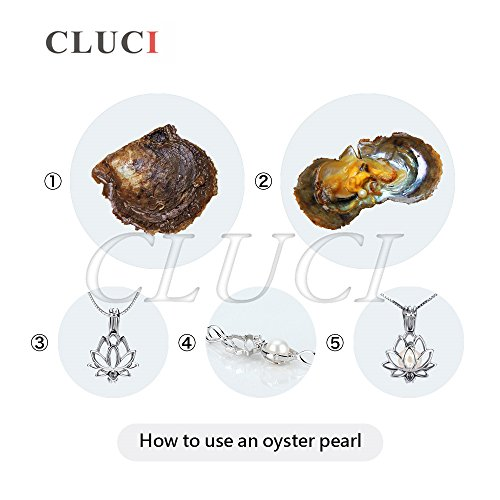 6-7mm Round Akoya Cultured Pearl Oyster 50pcs (White, Pink, Purple,Dyed Black) by NY Jewelry (Image #5)