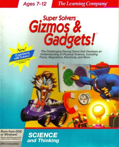 Super Solvers ~ Gizmos & Gadgets! [MS-DOS for Windows] {3.5' Diskettes} Ages 7-12