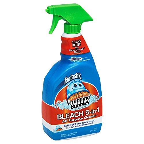 Fantastik 32 oz. Scrubbing Bubbles Bleach 5-in-1 Cleaner by Fantastik