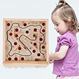 Funny toyy Creative Wooden Children Maze Beads Board...
