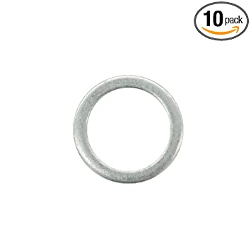 M18 Aluminum Oil Drain Plug Gasket Crush Washers for Volvo 850 960 C30 C70  S40 S60 S70 S80 S90 V40 V50 V60 V70 V90 XC60 XC70 XC90, Replacement for the