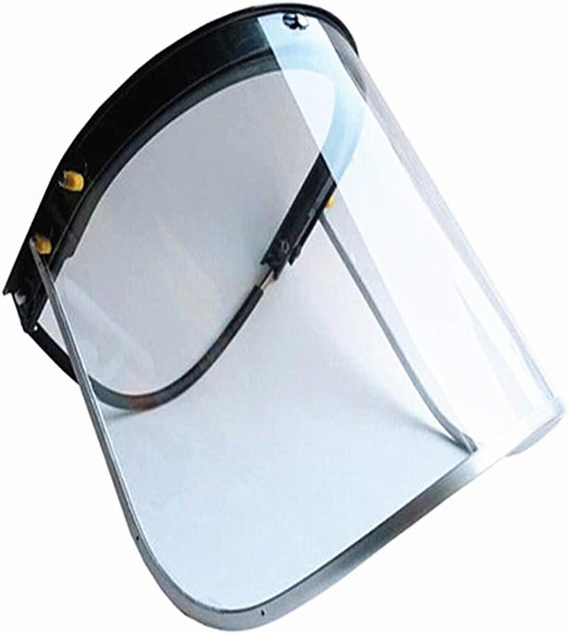 Protector facial y visera transparente, protector de pantalla para ...