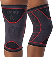 Knee Support Brace Compression Sleeves - for Joint Pain, Arthritis, Ligament Injury, Meniscus Tear, ACL, MCL, Tendonitis,...