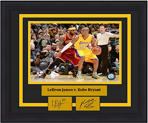 e8d94e0778b7 Lakers Cavaliers Kobe Bryant v. LeBron James 8