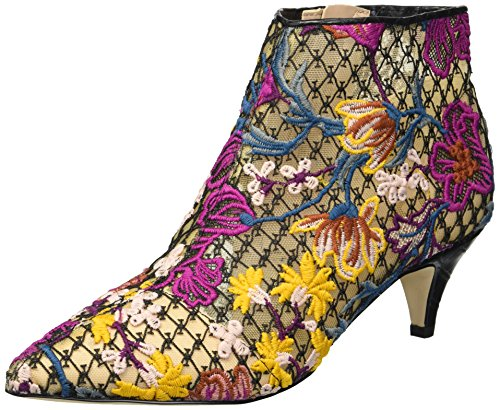 Sam Edelman Women's Kinzey Fashion Boot, Bright Multi Floral Chintz lace, 6.5 W US