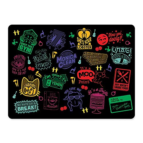Mousepad Gamer Momentos Friends Neon