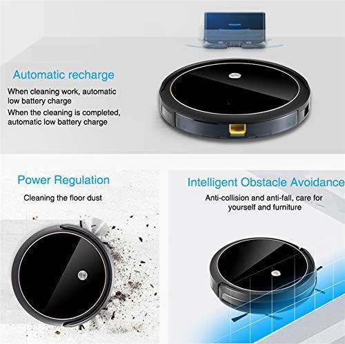WYGC CLEANER Robot Aspirateur Pro 1200PA Forte Aspiration Contrôle APP Haute Densité TempéréVerre Surface avec Vidéo Haute Définition et Fonctions de Partage
