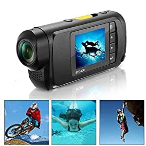 """TCL SVC400 - Cámara Digital Deportivo Full HD Pantalla de LCD 1.5"""" FHD DV Video con Cascara Sumergible"""