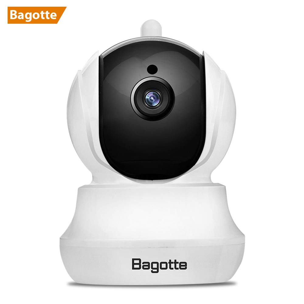 Bagotte Telecamera di Sorveglianza Wireless 720P HD IP Camera Wifi /P2P