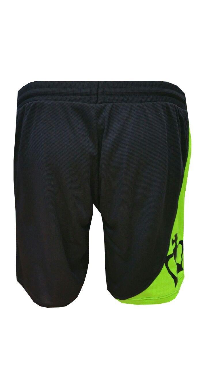 Pantalón Padel Black Crown Hombre Ball-Negro/Verde-S: Amazon.es ...