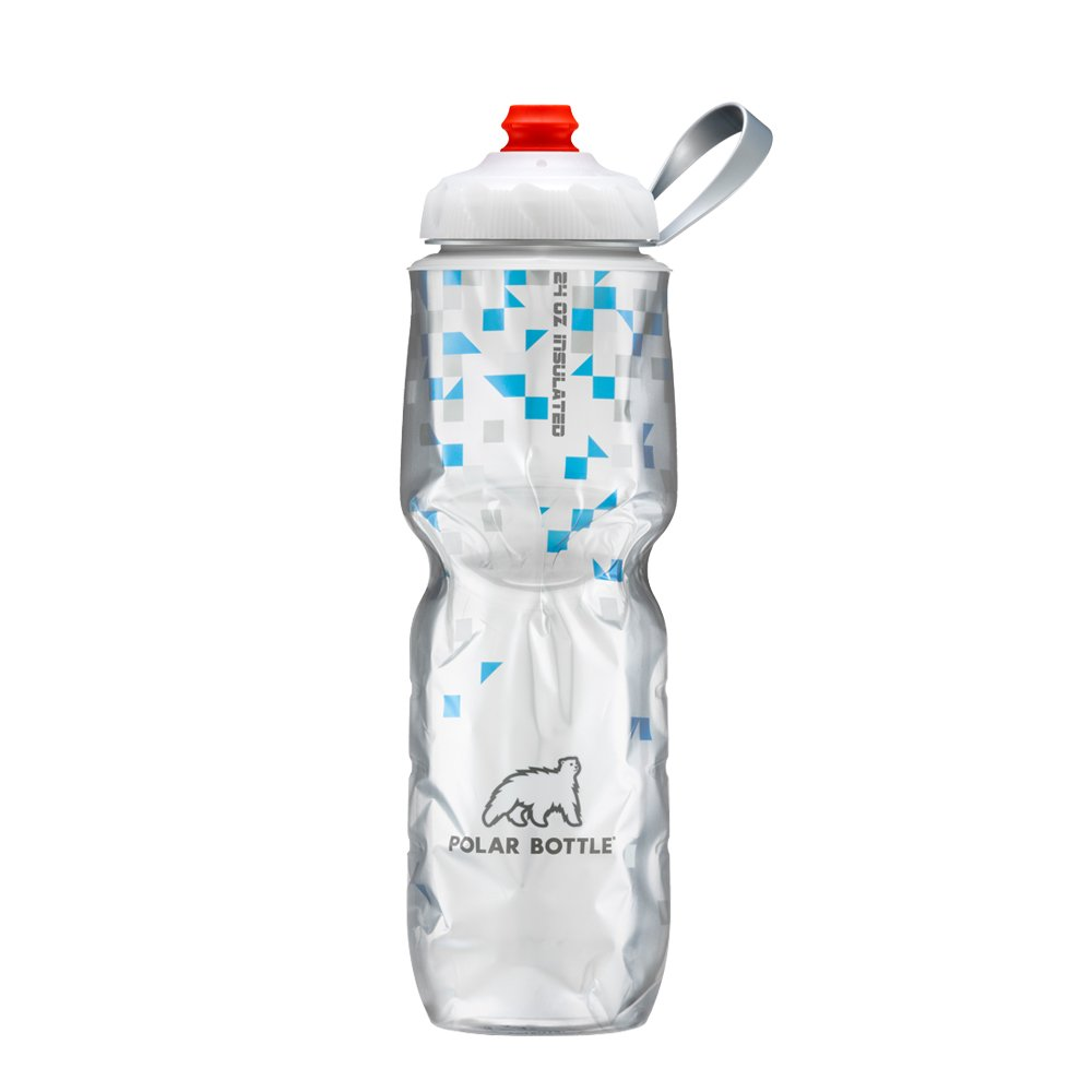 Polar Bottle ZipStream 24 oz – Insulated Cycling Sports Water Bottle with High Flow Cap