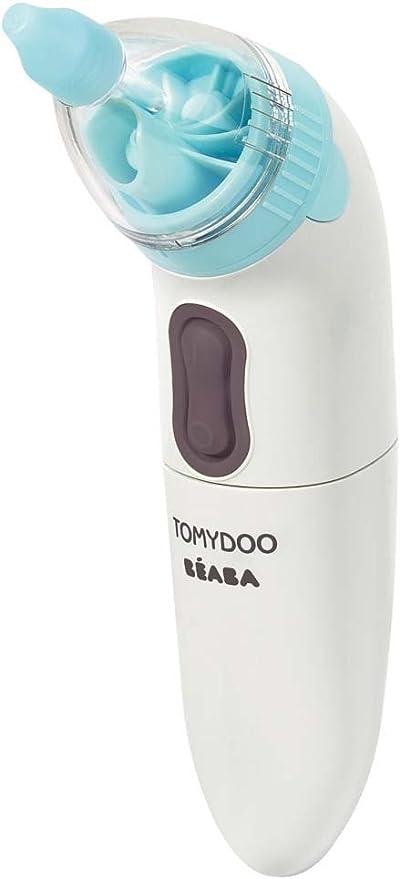 Béaba Tomydoo - Aspirador nasal eléctrico y móvil, color blanco: Amazon.es: Bebé