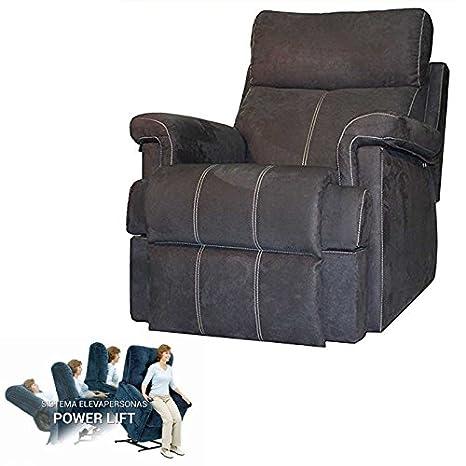 HABITMOBEL Maximo Confort Sillon Relax con Elevador Personas ...