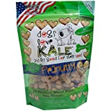 Dogs Love Kale Pea nutty Pet Snacks,6 oz.