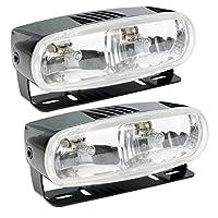 Optilux H71010321 Model 2020 12V Black Dual Beam Halogen Fog/Driving Lamp Kit