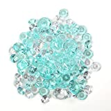 Hosley's Decorative Vase Filler Assorted Gems 450 gr (15.87 oz) in a Mesh Bag. Ideal for weddings, parties, special events
