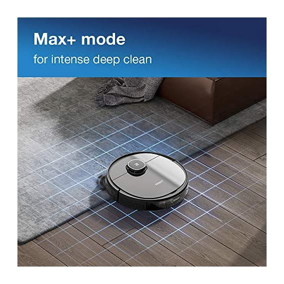 Ecovacs DEEBOT OZMO 950 Robotic Vacuum Cleaner 2-in-1 Vacuuming & Mopping with Smart Navi 3.0 Laser Technology Custom Cleaning Multi-Floor Mapping Virtual Wall Works on Carpets & Hard Floors 5