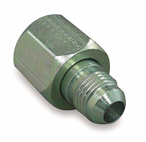 Eaton Aeroquip 221501-12-8S Reducer, Female 37 Degree JIC, JIC 37 Degree End Types, Carbon Steel, 1/2 JIC(m) x 3/4 JIC(f) End Size, NULL Tube OD by Aeroquip (Image #1)