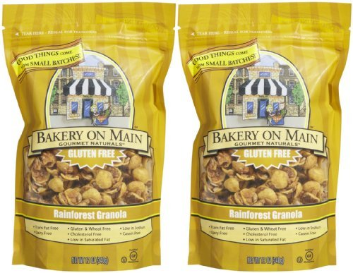 Bakery on Main Gluten Free Granola - Rainforest Banana Nut - 12 oz - 2 pk