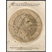 Antique Portrait Print-BALBINUS-ROMAN EMPEROR-Jegher-Goltzius-1645