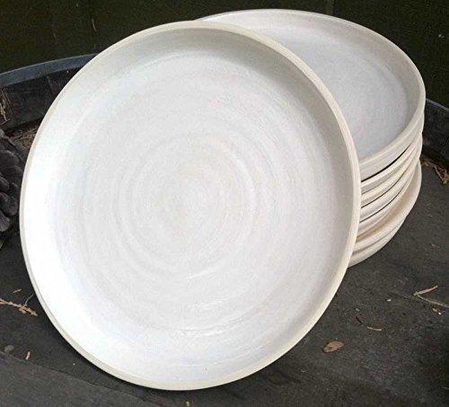 Sand Dune Dinner Plates. Set of 4. Combine with Santa Barbara Bowls.