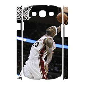 linfenglin LeBron James Customized Hard 3D Case For Samsung Galaxy S3 I9300