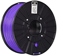 Monoprice 111548 Premium 3D Printer Filament ABS 1.75MM 1kg/Spool, Crystal Clear from Monoprice