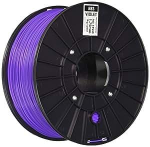 Monoprice 111549 Premium 3D Printer Filament ABS 1.75MM 1kg/Spool, Ultra Violet
