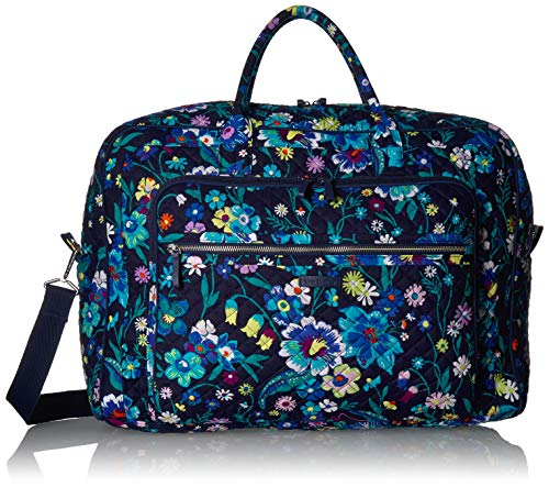Vera Bradley Iconic Grand Weekender Travel Bag, Signature Cotton, Moonlight Garde