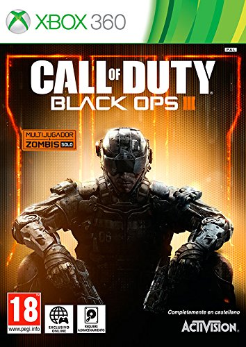 Call Of Duty Black Ops 3 Microsoft Xbox 360 Amazon Es Videojuegos