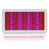 Cheap 600W LED Grow Light, EnerEco Full Spectrum Plant Light Lamp with UV IR for Hydroponic Plant Veg Flower Greenhouse and Indoor Plant Flowering Growing AC 85-265V