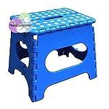 Jeronic 1 11″ Folding Step Stool, Blue