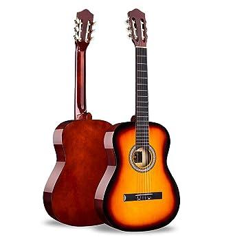 Amazon.com: BAIYING-Guitarra acústica, guitarra clásica para ...