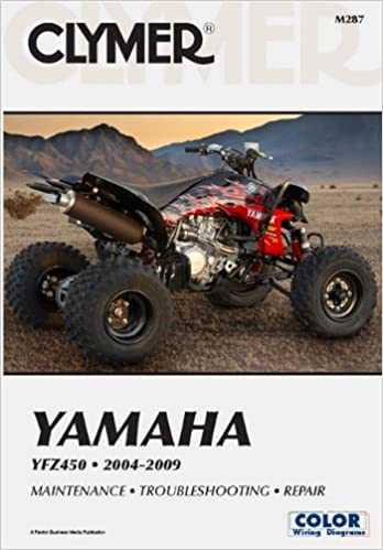 Clymer Yamaha YFZ 450 2004-2009 (Clymer Color Wiring Diagrams): Mike on yfz 450 carburetor diagram, yamaha big bear 400 wiring diagram, yamaha yfz 450 parts diagram, yamaha ttr 250 wiring diagram, yamaha xt 500 wiring diagram, yamaha wolverine wiring diagram, suzuki rm 250 wiring diagram, arctic cat 250 4x4 wiring diagram, kawasaki kfx400 wiring diagram, honda trx 250r wiring diagram, x18 pocket bike wiring diagram, polaris trail boss 330 wiring diagram, yamaha r6 wiring diagram, yamaha atv wiring diagram, suzuki z400 wiring diagram, honda trx 90 wiring diagram, yamaha xt 550 wiring diagram, suzuki king quad 700 wiring diagram, polaris outlaw 525 irs wiring diagram, arctic cat 400 4x4 wiring diagram,