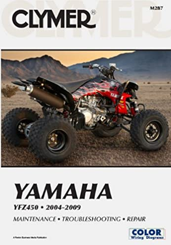 yfz450 wiring diagram 2 www crest3dwhite de \u2022clymer yamaha yfz 450 2004 2009 clymer color wiring diagrams mike rh amazon com yfz450r wiring diagram 2005 yfz 450 wiring diagram
