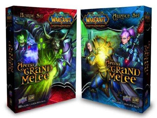 World of Warcraft Trading Card Game Arena Grand Melee Deck Set of 2 (Horde + ... (Arena Warcraft)