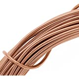 Beadsmith 12-Gauge Aluminum Craft Wire, 39-Feet, Light Copper