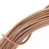 copper wire craft - Beadsmith DA2610-COP 12-Gauge Aluminum Craft Wire, 39-Feet, Light Copper