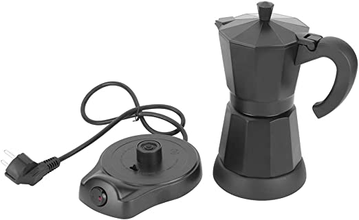Cafetera, 300 ml de forma octogonal portátil, cafetera eléctrica ...