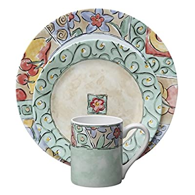 Corelle Impressions 16-Piece Dinnerware Set, Watercolors, Service for 4 -  - kitchen-tabletop, kitchen-dining-room, dinnerware-sets - 51KWudetZmL. SS400  -