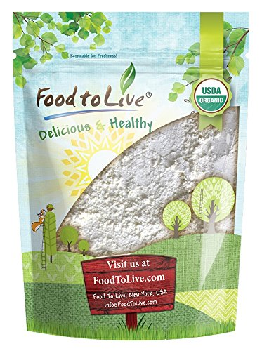 Organic Garlic Powder - Non-GMO, Kosher, Raw, Dried, Bulk (by Food to Live) 1 Pound