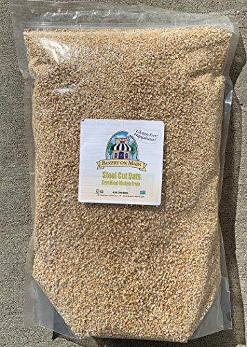 Bakery On Main Gluten-Free, Non-GMO Happy Oats, Steel Cut, 7.5 lb Bulk Bag