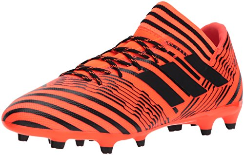 adidas Men's Nemeziz 17.3 FG Soccer Shoe, Solar Orange/Black/Black, 10.5 Medium US (Ground Soft)
