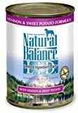 Natural Balance Canned Dog Food, Grain Free Limited Ingredient Diet Venison and Sweet Potato Recipe, 12 x 13 Ounce Pack, My Pet Supplies