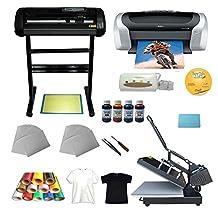 Heat Press Cutter Plotter Printer Ink Paper T-shirt Transfer Start-up KIT(Item #004959)