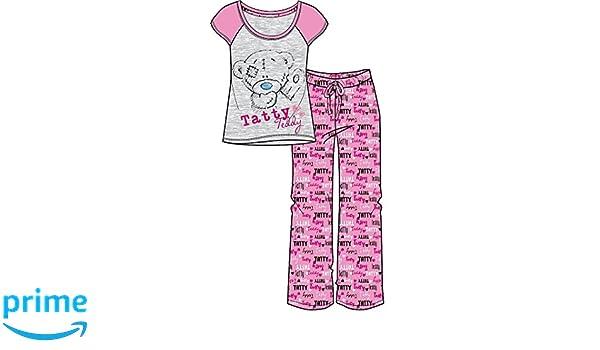 TDP Textiles - Pijama - para mujer rosa rosa S: Amazon.es: Ropa y accesorios