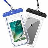 Waterproof Case, F-color 2 Pack Clear Waterproof Pouch - Best Reviews Guide